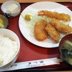 多つ田 - マル得定食<海老フライ と ひれかつ>