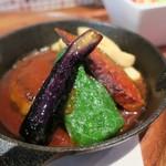 フライパン - 野菜がきれいです