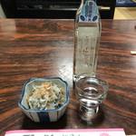 むさし - 料理写真:生酒&お通し