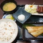 たんとと和くら - 牛たん焼きと縞ホッケ定食