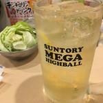 串カツ 田中 - チンチロ外してメガジョッキ