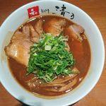 68177781 - こってり和歌山チャーシュー麺@清乃近鉄百貨店和歌山店(2017年4月某日)