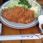 6818506 - ロースかつ定食(1100円)