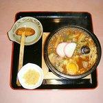うどんおにがしま - 石鍋味噌煮込み