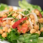 ダバ インディア - 2017.6 ひよこ豆と玉ねぎのサラダ(530円)
