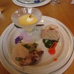 アマルフィイ ホワイトガーデン - 前菜