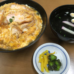 丸徳 - カツ丼=800円