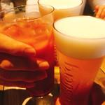カフェゴーサンブランチ - 乾杯♪