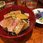 う越貞 - 間人の釣のノドグロ丼