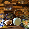 囲炉裏料理わ - 料理写真:土鍋でビーフカレー