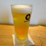 そば酒房 陽ざ志 - 生ビール