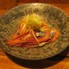 遊猿 - 料理写真:甘海老の紹興酒漬け