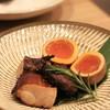 二笑庵 - 料理写真:鶏と玉子の燻製