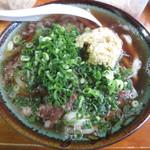 久野 - 肉うどん小 600円
