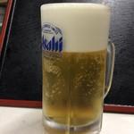 外野席 - 生ビール(中)