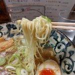 洛二神 - ストレート細麺