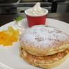 ふわふわパンケーキ&バニラアイスクリーム