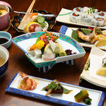 堺屋 - 料理写真:旬おまかせコース