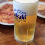 松園 - 生ビール