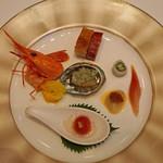 陽明殿 - 陽明殿特製焼き物入り前菜盛り合わせ
