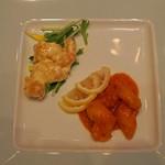 陽明殿 - 大海老のチリソース煮とマヨネーズソース