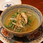 にしぶち飯店 - クエと野菜のスープ