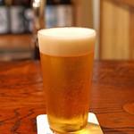 にしぶち飯店 - 生ビール