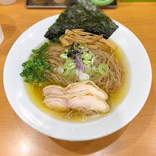 麺や遊大 - 料理写真:【春夏季限定】冷やし鶏そば 850円