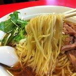 双龍 - ネギラーメン 麺アップ