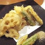 6820595 - ハモと蓮根の天ぷら