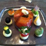 レ・ミレジム - 料理写真:前菜「海の幸のゼリーよせ」