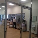 呉市役所食堂 - 市役所の食堂なので内装は無機質です