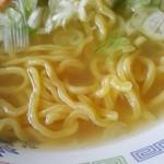 札幌市役所本庁舎食堂 - 黄色い麺
