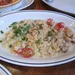ヴォメロ - 魚介類のラグーとチェリートマトのリゾット