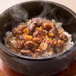 ■GARI肉(がりにく)焼きめし
