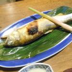 田楽 - 鮎の塩焼き