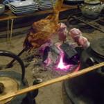 田楽 - 囲炉裏風景