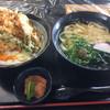 有明うどん - 料理写真:とり天丼セット