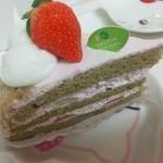 68209467 - 抹茶ショートケーキ