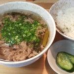 串かつ新世界 - 肉吸い定食