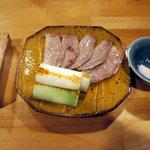 手打蕎麦 ちりん - 本鴨焼(950円)