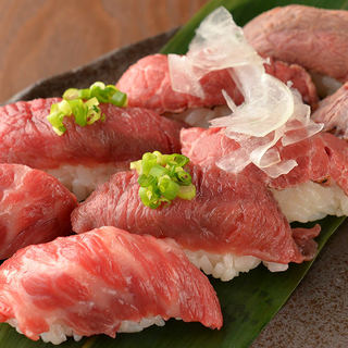 「肉寿司食べ放題90分2480円」1日5組迄