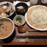 時分時 - 特製味噌の鶏だしつけ汁善(980円)