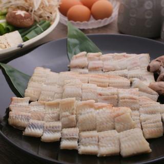 鰻のすき焼き