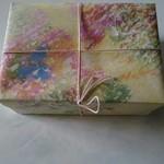 Amanza - 昔からこの包装紙。