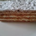 Amanza - ミニヨンシュニッテン横から。クッキー&バタークリーム。