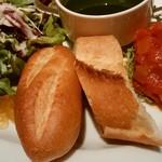 トラットリア・イタリア - 二種のパン