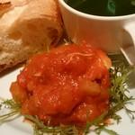 トラットリア・イタリア - おいしいチキン