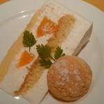 トラットリア・イタリア - オレンジショートケーキ