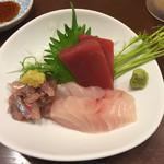 沼津魚がし鮨 - お刺身3点盛り